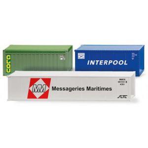 Wiking Zubehör 001824, Container II, 1:87, 4006190018241