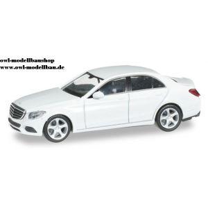 028363 Herpa Mercedes Benz C-Klasse Exclusive, polarweiß 1:87