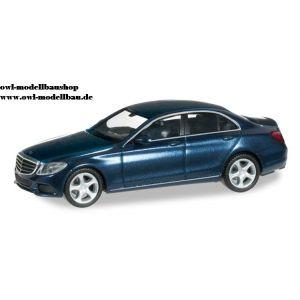 038362 Herpa Mercedes Benz C-Klasse Exclusive canvasitblau-metallic 1:87