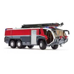 043003 Wiking Die-Cast Modell, Feuerwehr, Rosenbauer FLF Panther 6x6, Löscharm, 1:43, 4006190430036