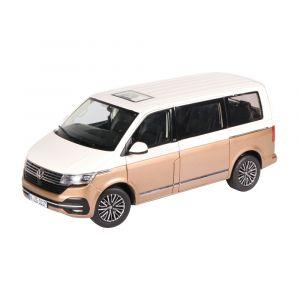 NZG 10171/67, VOLKSWAGEN T6.1, Multivan Generation Six, weiß/bronze, 1:18, 4251153504846