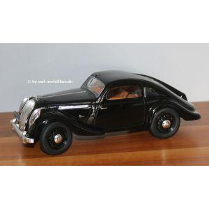 iScale 118000000, Skoda Popular, Monte Carlo, 1936, schwarz, 1:18