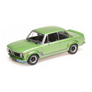 Minichamps 155026206, BMW 2002 Turbo (E20), 1972, grün metallic, 1:18, 4012138142015