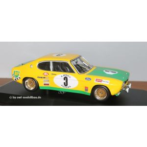 Minichamps 155728503, Ford RS 2600, Ford BP Racing Team, Fahrer: Birrel/Bourgoignie, 2. Place 24H Spa 1972, Maßstab 1:18, 4012138154247