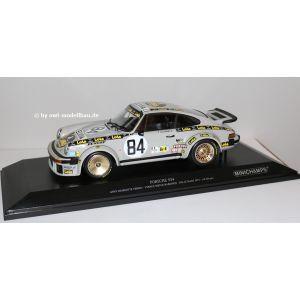 Minichamps 155796484, Porsche 934 #84, 24H Le Mans 1979, Anne-Charlotte Verney/Metege/Bardinon, 1:18, 4012138153387