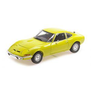 Minichamps 180049032, Opel GT 1970, gelb, 1:18,