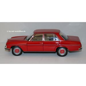Norev 183772, Mercedes-Benz 200/8 (W115) Serie 2, 1973, rot. LE. 1:18, 3551091837725