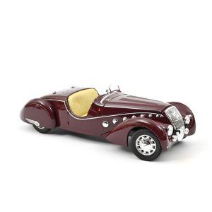 Norev 184695, Peugeot 302 Darl'Mat Roadster 1937,Dunkel Rot, LE, 1:18, 3551091846956