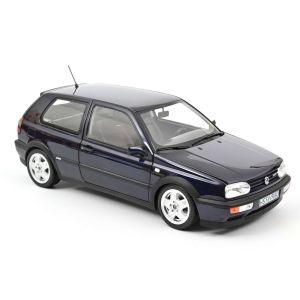 Norev 188462, VW Golf VR6 1996, Blau Metallic, 1:18, 3551091884620