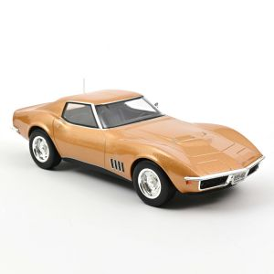Norev 189031, Chevrolet Corvette Becher 1969, Gold metallisch, 1:18, 3551091890317