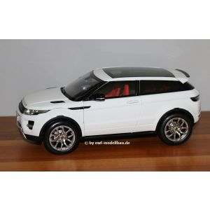 Welly 51LRDCAWELEVOGTW, Land Rover Range Rover Evoque 2011, weiss, 1:18, 4891761100315
