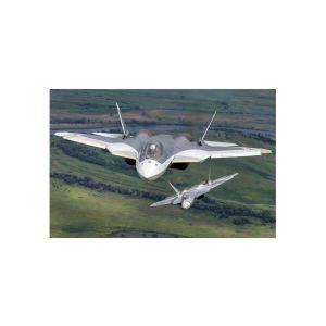 Herpa Wings 559751, Sukhoi Sukhoi T-50 (SU-57) prototype, White Shark, 1:200, 4013150559751