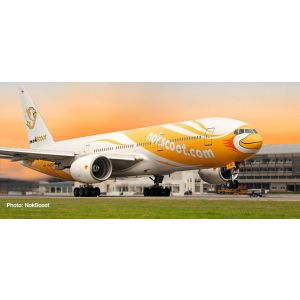 Herpa Wings Snap Fit 612425, NokScoot Boeing 777-200, Proud, 1:200, 4013150612425