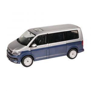NZG 9541/20, VOLKSWAGEN T6, Multivan Generation Six, blau/silber, 1:18, 4251153504570