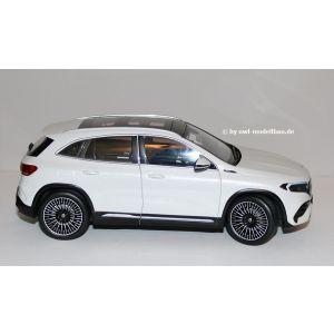 NZG B66960827, Mercedes-Benz EQA (H243) 2021, digital white, 1:18