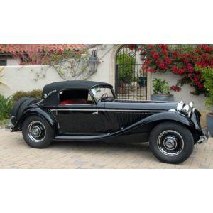 GLM207302, 002073020008, Mercedes-Benz 290A Cabriolet A W18, 1936, geschlossene Version, 1:43