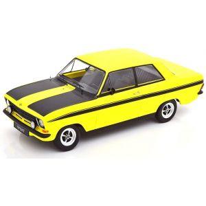 KK180641, Opel Kadett B Sport 1973, gelb/schwarz, 1:18,