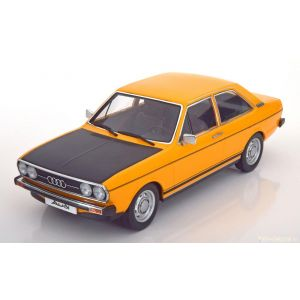 KK-Scale 180031, Audi 80 GTE 1972, ocker-gelb/schwarz, 1:18