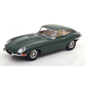 KK-Scale 180443, Jaguar E-Type Series 1(RHD), 1961, Racing green, 1:18