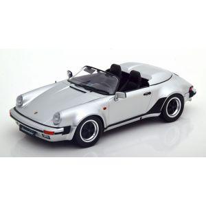 KK-Scale 180453, Porsche 911 Speedster, 1989, silber, 1:18