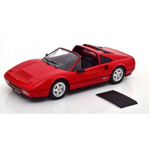 KK-Scale 180551, Ferrari 328 GTS (abnehmbares Hardtop), 1985, rot, 1:18