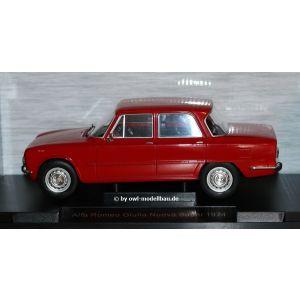 MCG18145, Alfa Romeo Giulia Nuova Super, rot, 1974, 1:18, 4052176797372