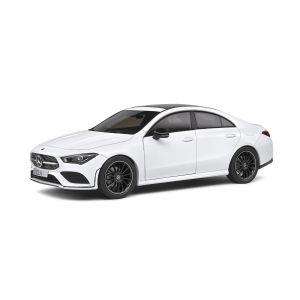 Solido 1803103 - Mercedes-Benz CLA (C118) AMG LINE, 2019, weiss, 1:18, 3663506012303