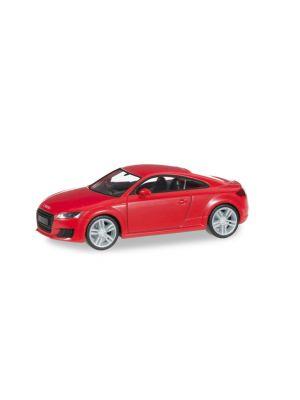 Herpa 028356, Audi TT Coupé - brillantrot, 1:87, 4013150028356