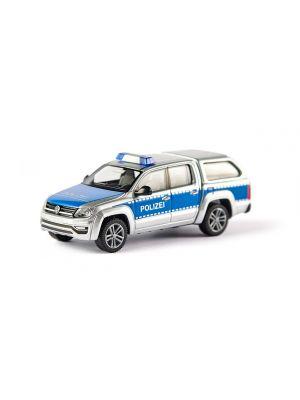 Wiking 003147, VW Amarok GP Comfortlin, Polizei, 1:87, 4006190311472