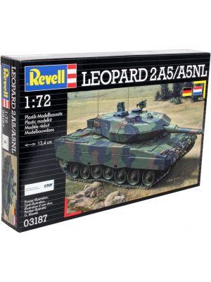 Revell 03187 - Leopard 2A5/A5NL. Plastikbausatz im Maßstab 1:72. Preis 13,55 €.