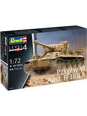 Revell 03262, PzKpfw VI Ausf. H, TIGER, 1:72, 4009803032627