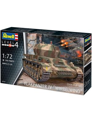 Revell 03267, Flakpanzer IV, Wirbelwind, 1:72, 4009803032672
