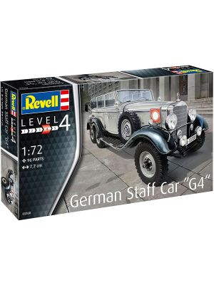 Revell 03268, German Staff Car G4, 1:72, 4009803032689