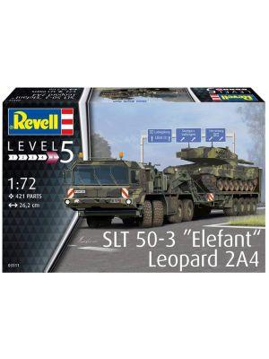 Revell 03311, SLT 50-3 Elefant, Leopard 2A4, 1:72, 4009803895741