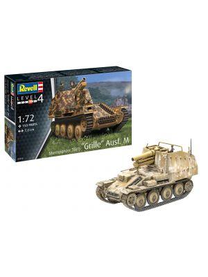 Revell 03315, Sturmpanzer 38(t) Grille Ausf. M., 1:72, 4009803033150