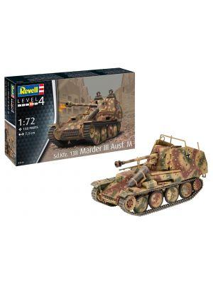 Revell 03316, Sd.Kfz. 138 Marder III Ausf. M., 1:72, 4009803033167
