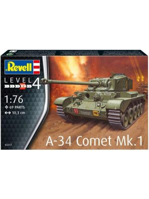 Revell 03317, A-34 Comet Mk. 1, 1:76, 4009803033174