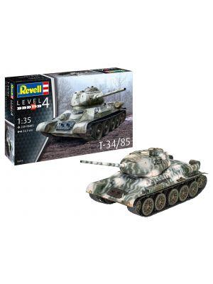 Revell 03319, Panzerkampfwagen T-34/85, 1:35, 4009803033198