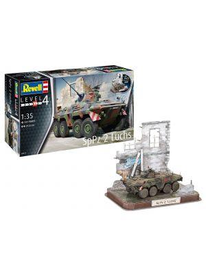 Revell 03321, SpPz2 Luchs u. 3D Puzzle Diorama, 1:35, 4009803033211
