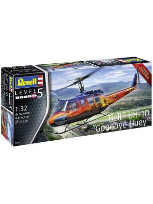 Revell 03867, Bell UH-1D, Goodbye Huey, Limited Edition, 1:32, 4009803038674