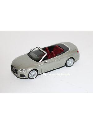 Herpa 038768-002, Audi A5 Cabrio, Cuvéesilber metallic, 1:87, 4013150349468