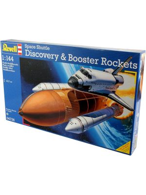 Revell 04736, Space Shuttle Discovery & Booster, 1:144, 4009803047362