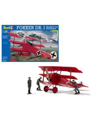 Revell 04744, Fokker Dr.I, Baron Manfred von Richthofen, 1:28, 4009803047447