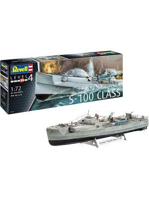 Revell 05162, Deutsches Schnellboot, S-100 Klasse, 1:72, 4009803051628