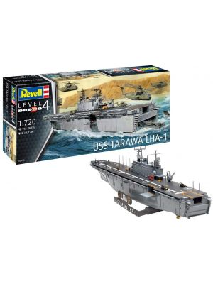 Revell 05170, Assault Ship USS Tarawa LHA-1, 1:720, 4009803051703
