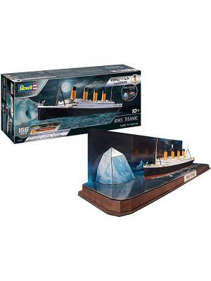 Revell 05599, RMS Titanic + 3D Puzzle (Eisberg), 1:600, 4009803055992