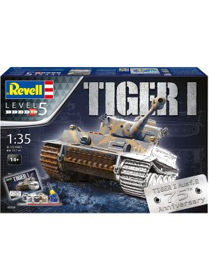 Revell 05790, Geschenkset 75 Jahre Tiger I, 1:35, 4009803057903