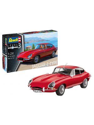 Revell 07668, Jaguar E-Type Coupé, 1:24, 4009803076683