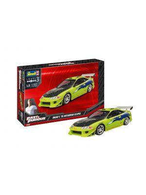 Revell 07691, Fast u. Furious, Brian's 1995 Mitsubishi Eclipse, 1:25, 4009803076911