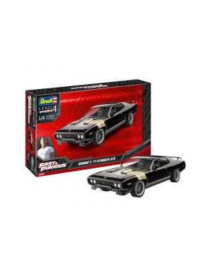 Revell 07692, Fast u. Furious, Dominic's 1971 Plymouth GTX, 1:24, 4009803076935